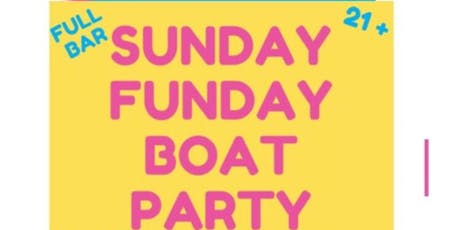 Sunday Funday Boat Party tickets