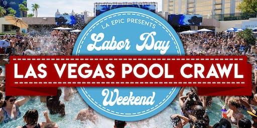 Las Vegas Labor Day Weekend -  Las Vegas Pool Crawl