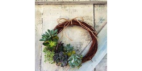 8/8 - Succulent Grapevine Wreath @ Helix Wines, Spokane tickets