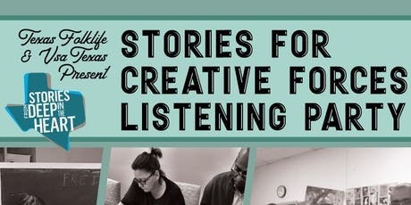 Stories for Creative Forces Listening Party tickets