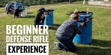 AR-15 Defense Rifle Experience I: October tickets
