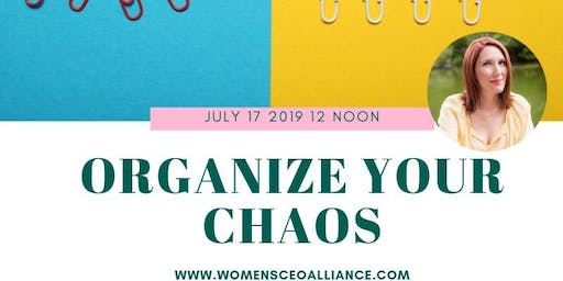 Organize Your Chaos-With Jessica Brown