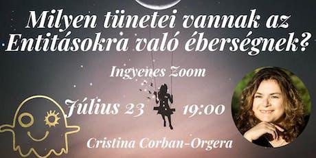Ingyenes Zoom Cristina Corban-Orgera-val tickets