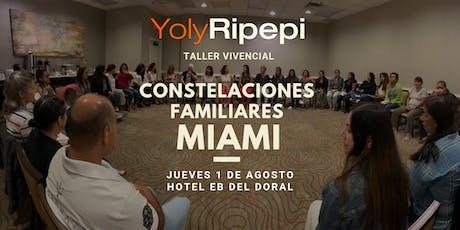 Constelaciones Familiares en MIAMI con Yoly Ripepi tickets