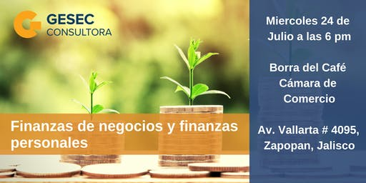 """Plática """"Finanzas de negocios y finanzas personales"""""""