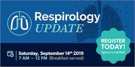 2019 West GTA Respirology Update tickets