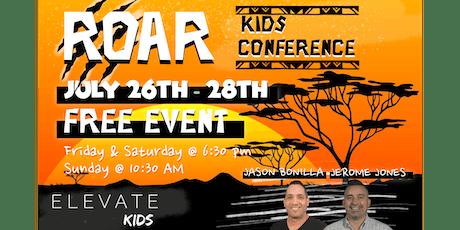ROAR Kids Conference tickets