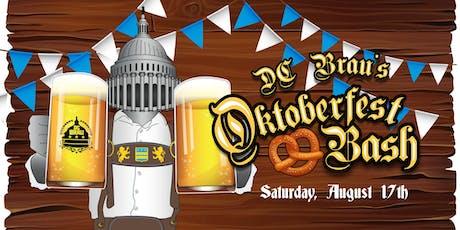 DC Brau Oktoberfest Bash tickets