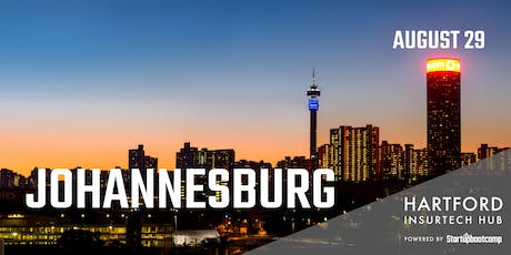 Johannesburg FastTrack - Hartford InsurTech Hub powered by Startupbootcamp  tickets