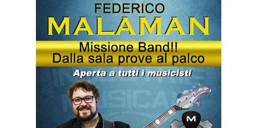 FEDERICO MALAMAN - MASTERCLASS INDUSTRIE MUSICALI