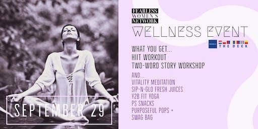 Fearless Women's Network: Wellness Event