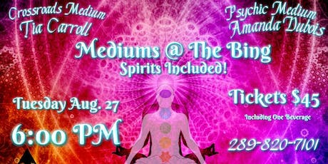 Mediums @ The Bing (Spirits Included) tickets