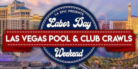 2019 Labor Day Weekend Pool Crawls & Club Crawls Las Vegas tickets