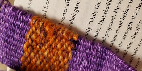 Bookmark Weaving- an Introduction To Weaving For Readers tickets