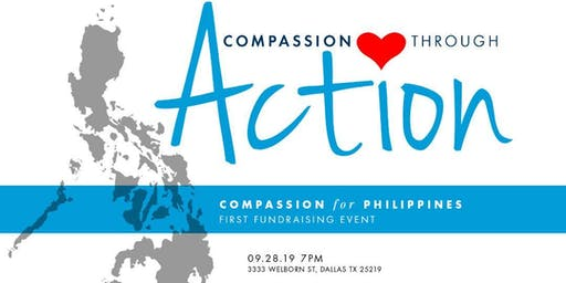 Compassion For Philippines First FUNDRAISING EVENT