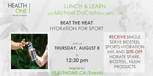 Beat the Heat  - Hydration for Sport