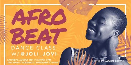 AfroBeat Dancing w/ Joli Jovi