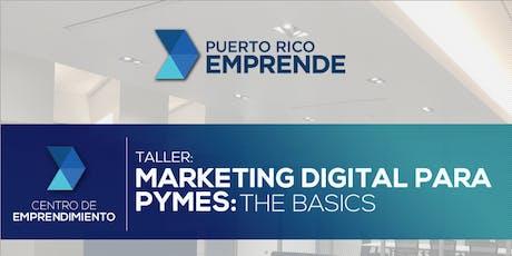 Marketing Digital para PyMEs: The Basics tickets