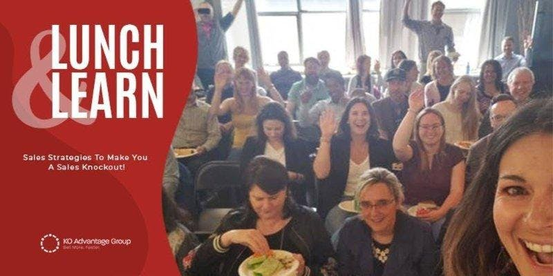 Sell More. Faster. - Become a Sales Knockout - Edmonton Lunch & Learn
