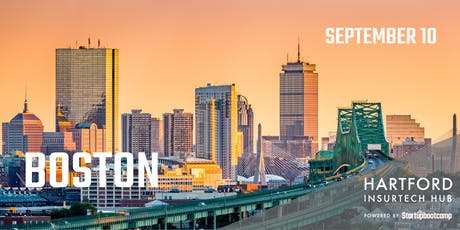 Boston FastTrack - Hartford InsurTech Hub powered by Startupbootcamp  tickets
