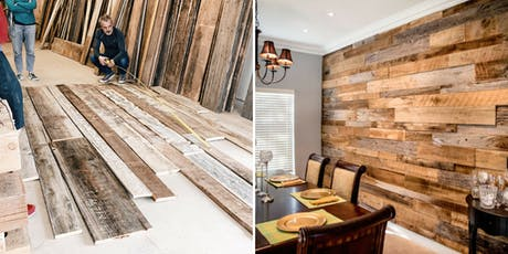 Reclaimed Wood Accent Wall Demo (FREE!) tickets