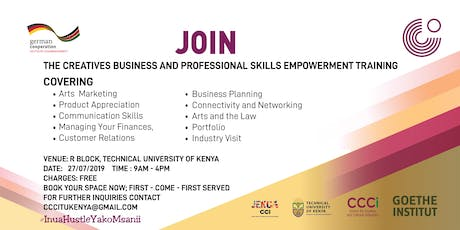 The Creatives Business & Professional Skills Empowerment Training tickets