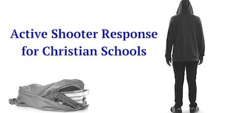 Active Shooter/Intruder Response for Christian Schools- Overland Park, KS  tickets