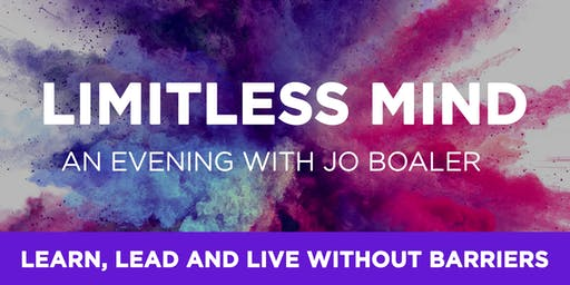 Limitless Mind - An Evening with Jo Boaler