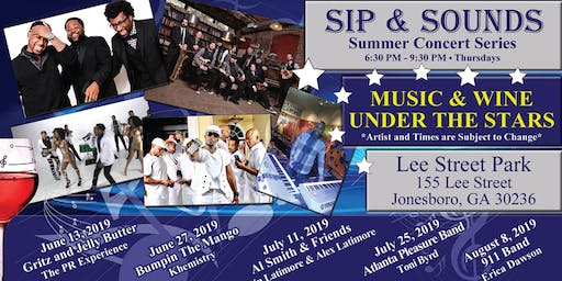 Sip & Sounds August 8, 2019 at 6:30 p.m.