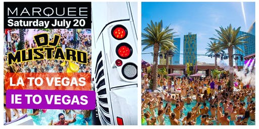 LA & IE TO VEGAS BUS MARQUEE CHECK FOR EXTRA SEATS TEXT(626)484-3773