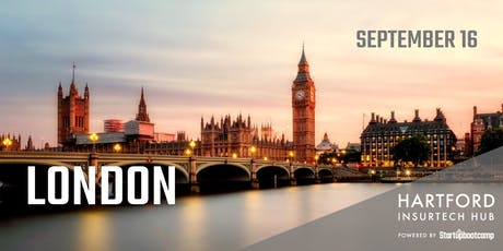 London FastTrack - Hartford InsurTech Hub powered by Startupbootcamp  tickets