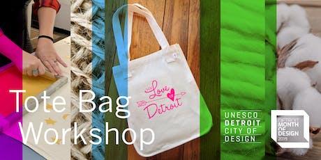 Everyday Sustainability Make-n-Take Tote Bag Workshop tickets