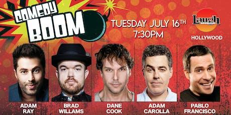 Dane Cook, Adam Carolla, and more - Comedy Boom! tickets
