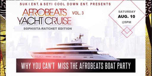 AFRO-CRUISE VOL. 3 - The best way to close out the summer!