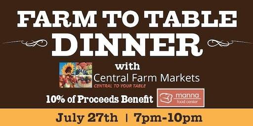 Farm To Table Dinner: 2019 Farm Tour