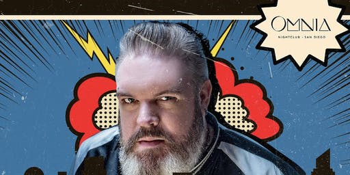 COMIC CON Thursday Guest List  with HODOR at Omnia San Diego