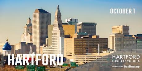 Hartford FastTrack - Hartford InsurTech Hub powered by Startupbootcamp  tickets