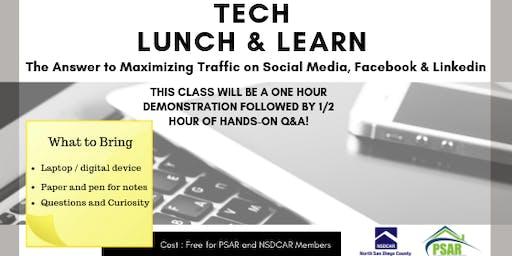 Tech Lunch & Learn July 24th