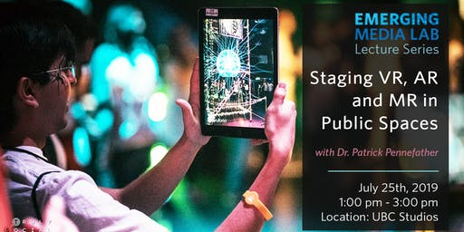 Staging VR, AR and MR in Public Spaces