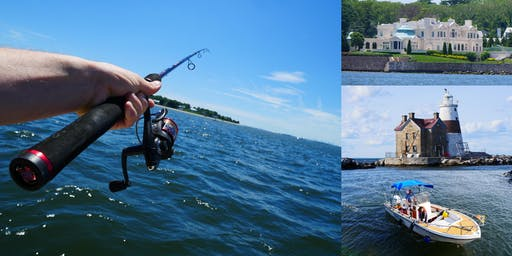 Full-Day Fishing & Sightseeing Adventure in the Long Island Sound