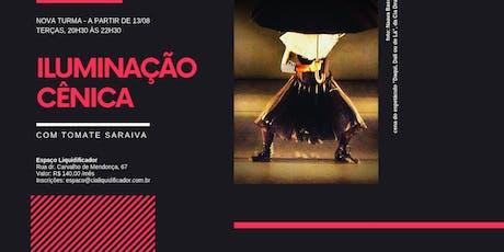 Curso Iluminação - Tomate Saraiva - 13/08 ingressos