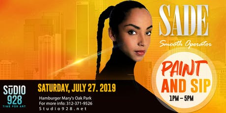 Smooth Operator - SADE Paint and Sip tickets