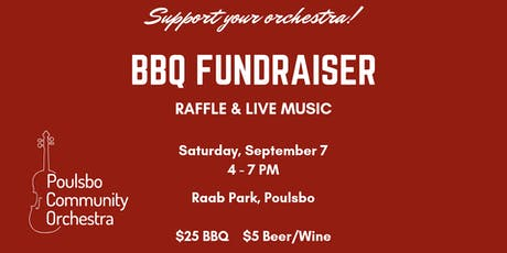 Poulsbo Community Orchestra Annual BBQ Fundraiser tickets