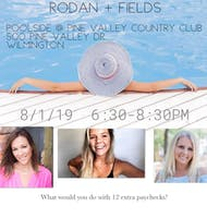 Poolside Rodan  + Fields Product & Business Presentation