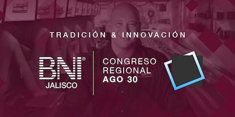 Congreso BNI Jalisco | Tradición + Innovación entradas