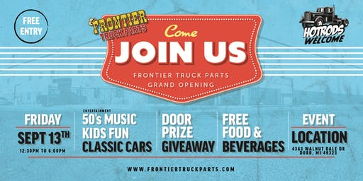 Frontier Truck Parts Grand Opening
