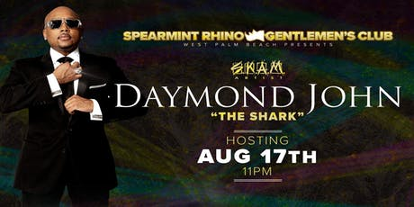 "Daymond ""The Shark"" John Hosts Spearmint Rhino Gentlemen's Club tickets"