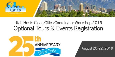 2019 Salt Lake City: Clean Cities Coordinator Training Workshop  tickets