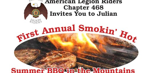 Legion Riders Post 468 1st Annual BBQ