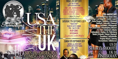 Chrystal Rose Promotions Presents The USA Meets UK tickets